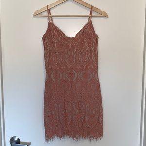 Lacy Mini Dress